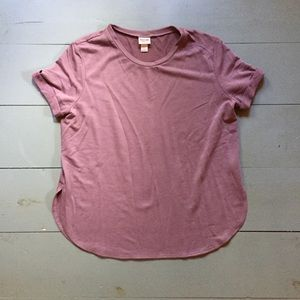Mossimo Supply Company Mauve Shirt